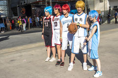 Amigos do Anime Foto de Stock Royalty Free
