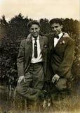 Amigos do vintage Fotos de Stock