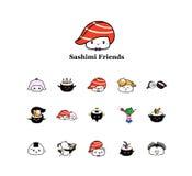 Amigos do Wasabi Fotografia de Stock