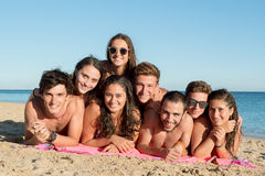 Amigos en verano Imagen de archivo