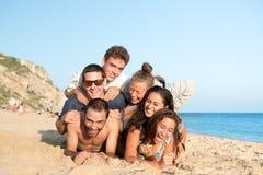 Amigos en verano Foto de archivo