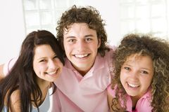 Amigos felizes Foto de Stock Royalty Free