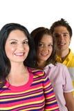 Amigos felizes dos jovens Foto de Stock Royalty Free