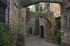 Amigos. Girona Fotografia de Stock Royalty Free