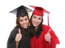 Amigos graduados de las mujeres Fotos de archivo
