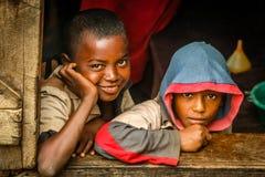 Amigos malgaches Foto de archivo libre de regalías