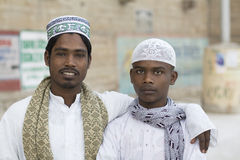 Amigos muçulmanos Imagem de Stock Royalty Free