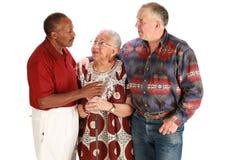 Amigos Multiracial Fotografia de Stock