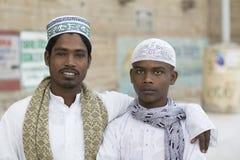 Amigos musulmanes Imagen de archivo libre de regalías