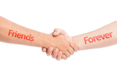 Amigos para sempre Foto de Stock
