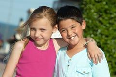 Amigos pequenos Imagem de Stock Royalty Free