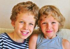 Amigos pequenos Foto de Stock Royalty Free