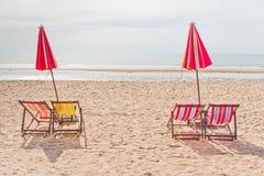 Amigos - praia do Am, Fotos de Stock Royalty Free