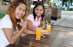 Amigos tailandeses Fotografía de archivo