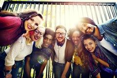 Amigos Team Togetherness Unity Concept da comunidade da ligação imagem de stock royalty free