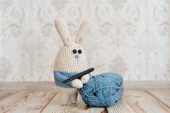 Amigurumi玩具 兔子 库存图片