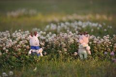 Amigurumi玩具 驯鹿 免版税库存照片