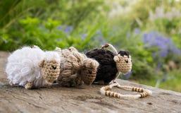 Amigurumi sheep royalty free stock images