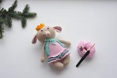 Amigurumi-Spielzeug Elefant