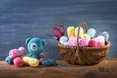 Amigurumi toys Royalty Free Stock Photo