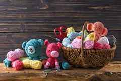 Amigurumi toys Stock Photos