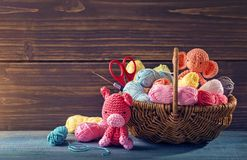 Amigurumi toys Stock Images