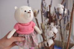 Amigurumi zabawka TeddyBear Zdjęcia Royalty Free