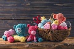 Amigurumi zabawki Obrazy Royalty Free