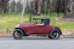 1925年Amilcar C4游览车 免版税库存图片