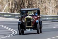 1925 Amilcar C4 Tourer. Adelaide, Australia - September 25, 2016: Vintage 1925 Amilcar C4 Tourer driving on country roads near the town of Birdwood, South Stock Photos