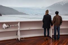 Amilia Glacier, South Patagonia, Chile Royalty Free Stock Photo