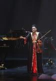 Amina Srarfi & El Azifet在巴林执行 库存图片