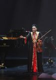 Amina Srarfi & El Azifet performs at Bahrain Stock Image