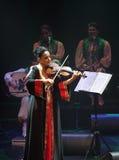 Amina Srarfi y EL Azifet se realiza en Bahrein Foto de archivo libre de regalías