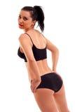Amincissez la femme bronzée Image stock