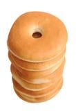 Amincissez les bagels cuits au four Images stock