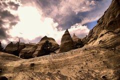 Amincit dans le désert Photo libre de droits