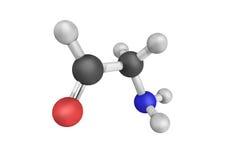 Aminoacetaldehyde, également connu sous le nom d'acétaldéhyde Formule moléculaire Photos libres de droits