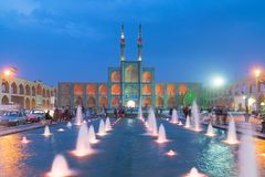 Amir Chakhmagh dans Yazd, Iran Photographie stock