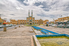 Amir Chakhmaq Complex dans Yazd Images stock