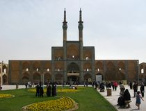Amir Chakhmaq Complex dans Yazd, Iran Photo stock