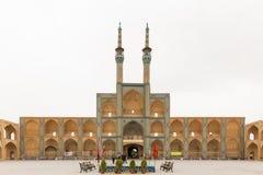 Amir Chakhmaq Complex dans Yazd, Iran Image libre de droits