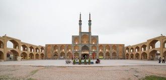 Amir Chakhmaq Complex dans Yazd, Iran Photographie stock libre de droits