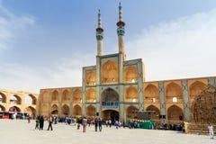 Amir Chakhmaq Complex dans Yazd l'iran Image stock