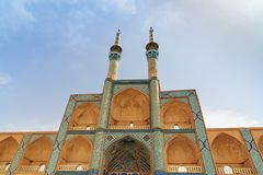 Amir Chakhmaq Complex dans Yazd l'iran Photographie stock