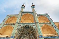 Amir Chakhmaq Complex dans Yazd l'iran Image libre de droits