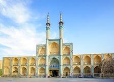 Amir Chakhmaq Mosque Complex in Yazd, Iran stock foto's