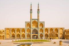 Amir Chakmak Mosque Lizenzfreies Stockbild