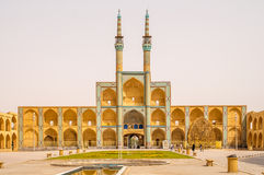 The Amir Chakmak Mosque Royalty Free Stock Image