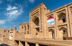 Amir Tura Madrassah chez Itchan Kala Khiva, Uzbekistan Images libres de droits